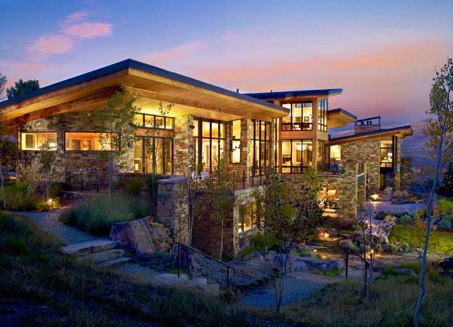 Modern mountain homes vail property search search vail for Mountain modern architecture